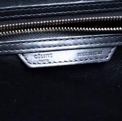 Celine Black Python and Leather Mini Luggage Tote