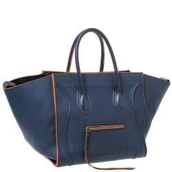 حقيبة يد سيلين متوسطة فانتوم لاغيدج جلد كحلية