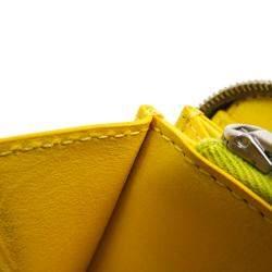 Celine Brown Large Leather Clutch Bag