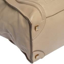 حقيبة يد سيلين ميني لاغيدج جلد بيج