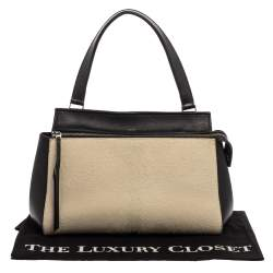 حقيبة سيلين إيدج جلد ثلاثي اللون صغيرة