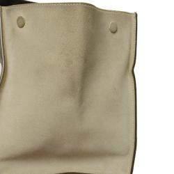 Celine Tricolor Leather Trapeze Satchel Bag
