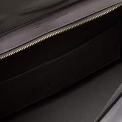 Celine Tricolor Leather Medium Trapeze Top Handle Bag