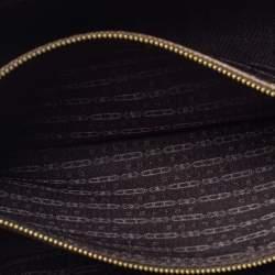 Celine Brown Leather Boogie Satchel Bag