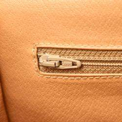 Celine Brown/Tan Vintage Macadam Crossbody Bag