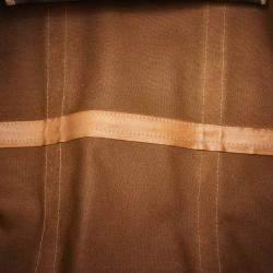 Celine Brown/Light Brown PVC Macadam Duffel Bag