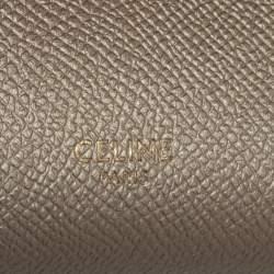 Celine Gold Leather Nano Belt Bag