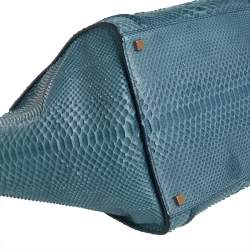 Celine Blue Python Medium Phantom Luggage Tote