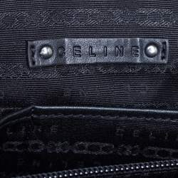 Celine Black Patent Leather Tote