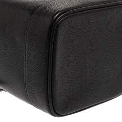 Chanel Black Caviar Leather CC Vanity Case