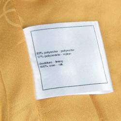 Chanel Metallic Gold Sleeveless Top S
