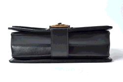 Chanel Black Leather Flap Shoulder Bag