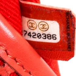 Chanel Red Perforated Leather Up in the Air Flap Bag