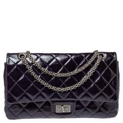 Chanel Tale Quilted Leather Reissue 2.55 Classic 227 Flap Bag