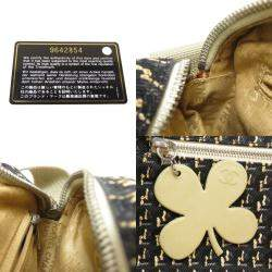 حقيبة شانيل كاميرا لاكي كلوفر كانفاس متعدد الألوان