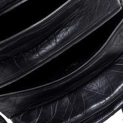 Chanel Black Quilted Leather Lady Braid Bowler Bag