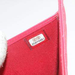 Chanel Red Caviar Leather Wallet