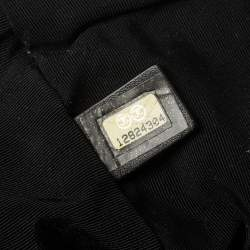 Chanel Silver Coated Nylon 31 Rue Cambon Shoulder Bag