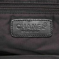 Chanel Black Nylon Travel Line Bag