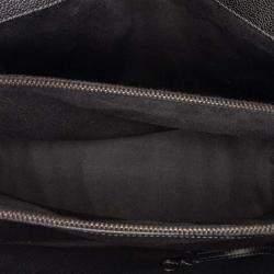 Chanel Black Caviar Leather New Chic Tote Bag