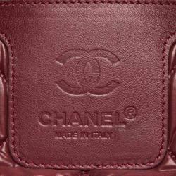 Chanel Brown Nylon Coco Cocoon Bag