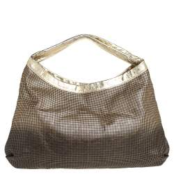 Chanel Metallic Ombre Leather Hollywood CC Hobo