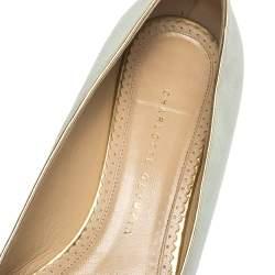 حذاء سليبرز شارلوت أوليمبيا سويدي أزرق فاتح جيميني مقاس 41