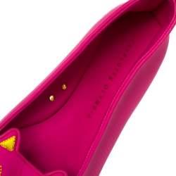 حذاؤ فلات شارلوت اوليمبيا كيتي مطاط وردي مقاس 41