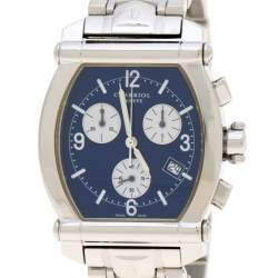 Charriol Blue Mother of Pearl Stainless Steel 060T.100.711 Women's Wristwatch 35 mm