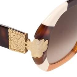 Chloe Brown CE743S Gradient Oversized Sunglasses