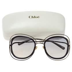 Chloe Gold/Black Gradient CE123S 743 Carlina Square Sunglasses