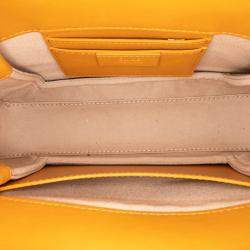 Chloe Brown Leather Medium  Roy Satchel Bag