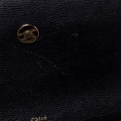 Chloe Tri Color Leather Medium Clare Shoulder Bag