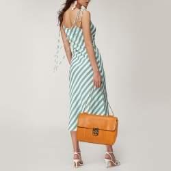Chloe Tan Leather Large Elsie Shoulder Bag
