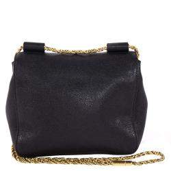 Chloe Black Leather Elsie Shoulder Bag