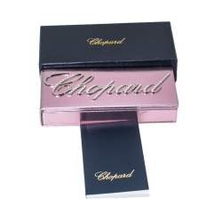 Chopard Pink Resin Gold Tone Mini Ballpoint Pen