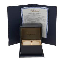 Chopard Happy Hearts Diamond Mother of Pearl 18K Rose Gold Bracelet S