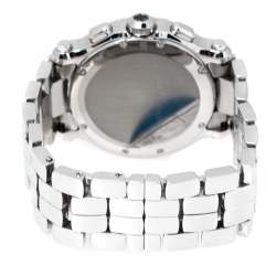 Chopard White Stainless Steel Happy Sport 8499 Women's Wristwatch 42 mm