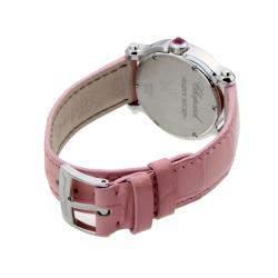 Chopard MOP Pink Sapphire Stainless Steel Happy Sport Mini 278509-3013 Women's Wristwatch 30 MM