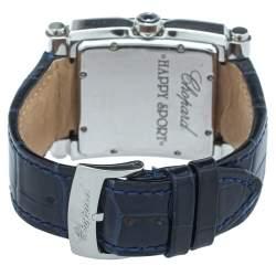 Chopard Mother Of Pearl Stainless Steel Diamonds Happy Sport 28/8447 Women's Wristwatch 35.50mm