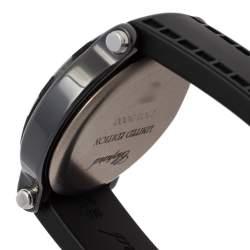 Chopard Black Ceramic Diamonds Happy Sport Limited Edition 28/8507 Women's Wristwatch 38 mm