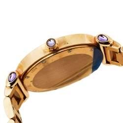 Chopard Silver 18K Rose Gold Imperiale 4221 Women's Wristwatch 36mm