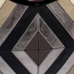 Christian Louboutin Multicolor Leather Passage Colorblock Tote