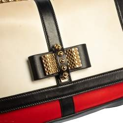 Christian Louboutin Tri Color Leather Sweet Charity Shoulder Bag