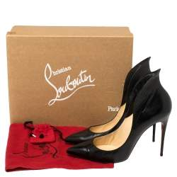 Christian Louboutin Black Leather Mea Culpa Pumps Size 41
