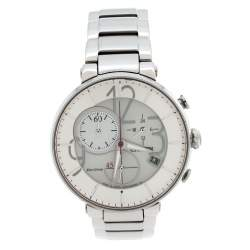 Citizen Silver Stainless Steel Eco-Drive Chronograph GN-4N-S→9 Women's Wristwatch 34 mm