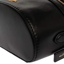 Coach Black Leather Trial Bag
