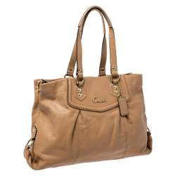 Coach Brown Leather Ashley Tote