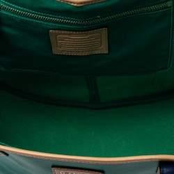 Coach Tri Color Leather Park Metro Tote