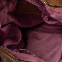 """حقيبة هوبو كوتش """"كريستين"""" جلد بني"""